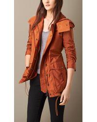 Burberry Peaked Hood Jacket - Lyst