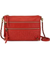 Elliott Lucca - Bali 89 Leather Crossbody Bag - Lyst