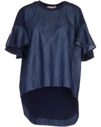 See By Chloé Blouse blue - Lyst