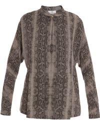 Day Birger Et Mikkelsen Eve Shirt Ls Snake Print - Lyst