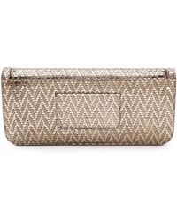 Time's Arrow - Metallic Gya Clutch - Platino - Lyst