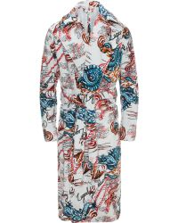Alexander McQueen - Legendary Creature Bathrobe - Lyst