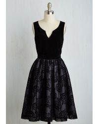 ModCloth | Velvet Victory Dress | Lyst