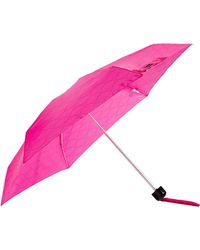 Lulu Guinness - Micro Quilted Lips Umbrella - Lyst