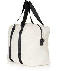 TOPSHOP - Large Denim Luggage Bag - Lyst