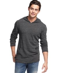 Alternative Apparel Hooded Shirt - Lyst