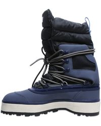 Adidas by stella mccartney Winter Quilted Nylon Snow Boots in Blue ... : adidas quilted boots - Adamdwight.com