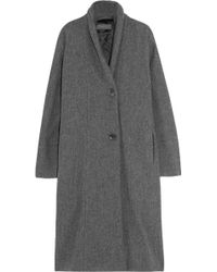 Christophe Lemaire - Wool Coat - Lyst