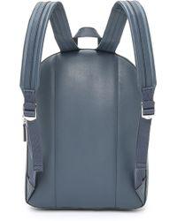 Ben Minkoff   Waxy Leather Bondi Backpack With Stripe   Lyst