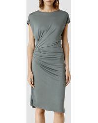 AllSaints Alix Dress - Lyst