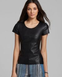 Bailey 44 Top - Mermaid Faux Leather - Lyst