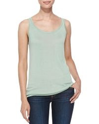 Belford - Scoop-neck Bambo Cashmere Tank - Lyst