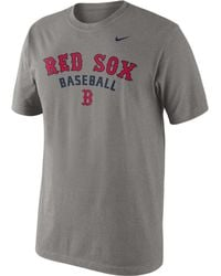 Nike Mens Boston Red Sox Practice Tshirt - Lyst