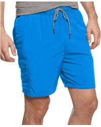 Tommy Bahama Big and Tall Naples Happy Go Cargo Swim Shorts - Lyst