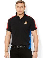 Ralph Lauren Polo Big and Tall Short Sleeve Knit Mesh Polo - Lyst