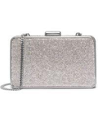 Michael Kors Elsie Crystal-embellished Box Clutch - Lyst