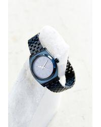 Nixon All Indigo Time Teller Watch - Lyst