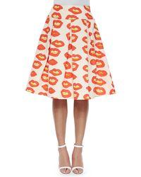 Essentiel Antwerp - Blow Up Lips Japon Pleated Skirt - Lyst