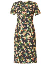 Erdem Inis St Gall Floralprint Dress - Lyst