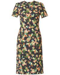 Erdem Inis St Gall Floral-Print Dress - Lyst