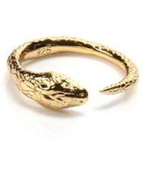 Pamela Love Serpent Ring gold - Lyst
