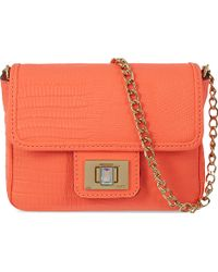 Juicy Couture Sierra Sorbet Mini Crossbody Bag Tangerine - Lyst