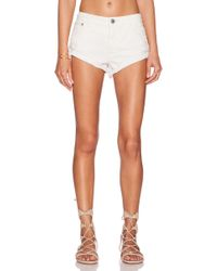 Free People Irreplaceable Cut Off Short - Lyst