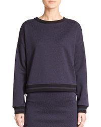 Weekend by Maxmara - Nicia Printed Sweatshirt - Lyst