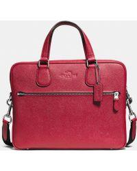 Coach Hudson 5 Bag In Crossgrain Leather - Lyst