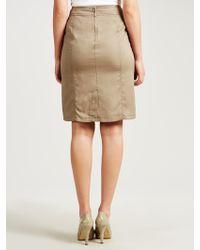 Gerry Weber - Tencel Drawstring Skirt - Lyst