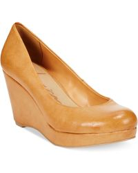 American Rag Kenna Platform Wedge Pumps - Lyst