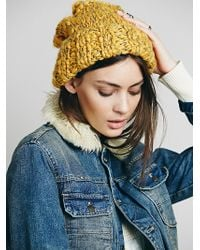 Free People Florence Cuff Beanie - Lyst