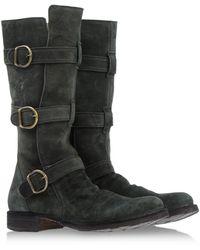 Fiorentini + Baker Green Tall Boots - Lyst
