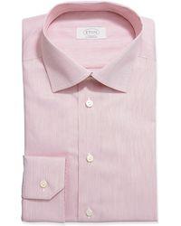 Eton Hairline-striped Dress Shirt - Lyst