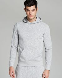 Theory Marble Terry Dannen Pullover Hoodie  - Lyst