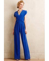 Twelfth Street Cynthia Vincent Anacapa Silk Jumpsuit - Lyst