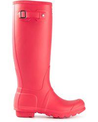 Hunter Wellington Rain Boots - Lyst