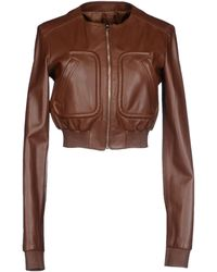 Michael Kors Jacket brown - Lyst