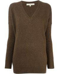 Vanessa Bruno Vneck Sweater - Lyst