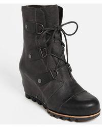 Sorel 'Joan Of Arctic' Wedge Boot - Lyst