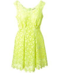 Ermanno Scervino Floral Lace Dress - Lyst