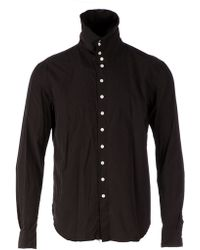 The Soloist - Funnel Neck Shirt - Lyst