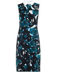 Erdem Brenton Diamond-Lace Feather Dress - Lyst
