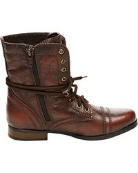 Steve Madden Troopa Short Combat Kids' Boots - Lyst