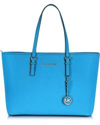 Michael Kors Medium Jet Set Multifunction Tote - Lyst