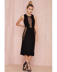 Nasty Gal Laney Lace Cutout Dress - Lyst