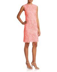 Shoshanna | Lola Lace Dress | Lyst