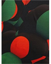 Christopher Kane Men'S Red Atom Print Cotton T-Shirt multicolor - Lyst