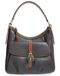 Dooney & Bourke 'Samba' Grainy Leather Satchel - Lyst