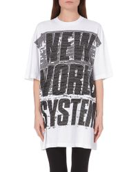 Marc By Marc Jacobs New World System Cotton T-Shirt - Lyst